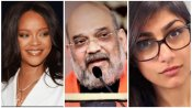 Rihanna, Mia Khalifaలాంటోళ్లకు అమిత్ షా కౌంటర్ -దేశ ఐక్యతను దెబ్బతీయలేరంటూ..
