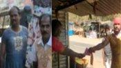 ఎన్నికల సిత్రాలు .. గౌను వేసుకుని ఎన్నికల ప్రచారం చేసిన అభ్యర్థి