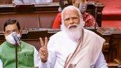 దేశంలో 'ఆందోళన్ జీవి' అనే కొత్త జాతి... వాళ్లతో జాగ్రత్త.. : రాజ్యసభలో ప్రధాని మోదీ