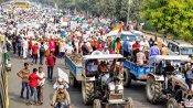 రైతుల ఆందోళన ఉధృతం..  ఢిల్లీ బోర్డర్లో పలు మార్గాలు మూసివేత , ట్రాఫిక్ మళ్ళింపు