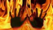 హైదరాబాద్ శామీర్పేటలో ఘోర రోడ్డు ప్రమాదం... ట్యాంకర్,లారీ దగ్ధం... ఒకరు సజీవ దహనం...