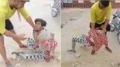 viral video: పాక్తో మోదీ స్నేహం వేళ -ఢిల్లీలో కిరాతక ఘటన -ఆ దేశాన్ని, ఓవైసీని తిట్టాలంటూ దాడి