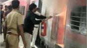 సికింద్రాబాద్-దానాపూర్ స్పెషల్ ట్రైన్లో మంటలు... రైలు దిగి పరుగులు పెట్టిన ప్రయాణికులు