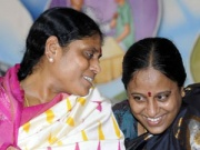 YS Vijayamma and Konda Surekha