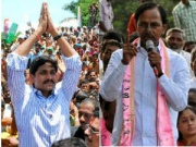 YS Jagan - K Chandrasekhar  Rao