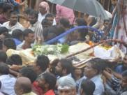 కిడారి, సోమ అంత్యక్రియలు పూర్తి...అధికారిక లాంఛనాలతో అంతిమ సంస్కారాలు