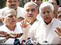 SP, RJD withdraw support to UPA