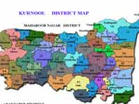 Kurnool Dist map