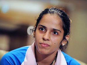 Saina Crashes Of World Championship 120811 Aid