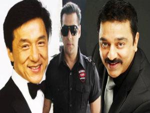 Jocky Chan - Salman Khan - Kamal  Hassan