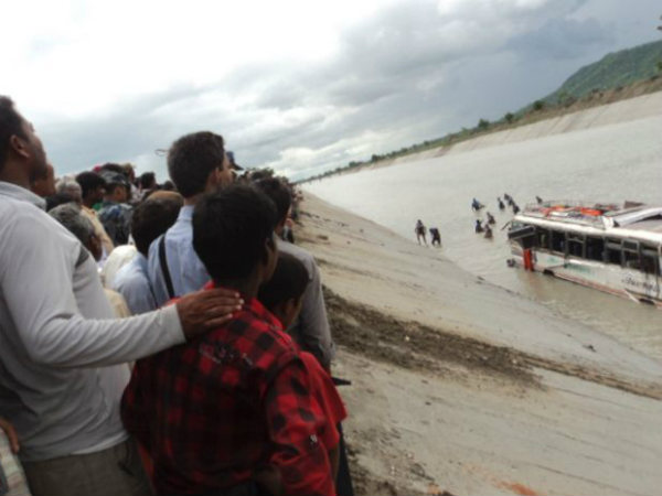 Nepal bus accident kills 36 Indian devotees