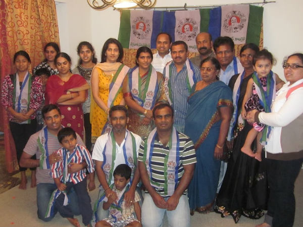 YSR Yuvasena hosts thankful Dinner for Lakshmi Parvathi