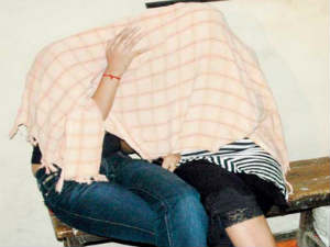 Mumbai police's social sevrvice branch detained the women who were about to board an Air India flight to Dubai