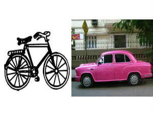 Telangana effect: Car beats Cycle