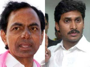 K Chandrasekhar Rao-YS Jagan
