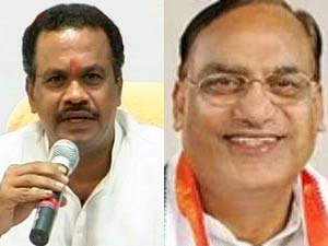 Komatireddy Venkat Reddy-Gutta Sukhender Reddy
