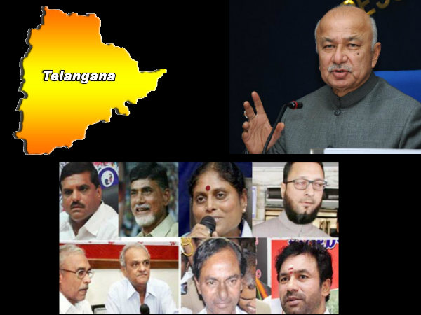 Telangana: Parties opinion