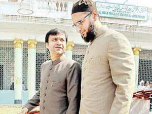 First shock to Owaisi family
