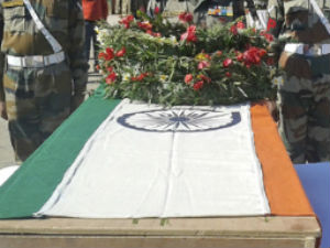 Martyr Lance Naik Hemraj cremated with military honours