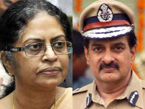 Minnie Mathew-DGP Dinesh Reddy
