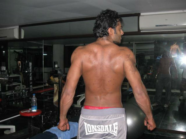 prabhas gym every day six pack body