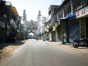MIM bandh call: Attack on shops