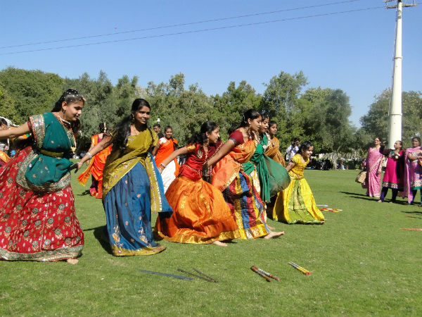Sankranthi celebrated at Dubai
