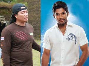 Hollywood Stunt Master Directing Allu Arjun