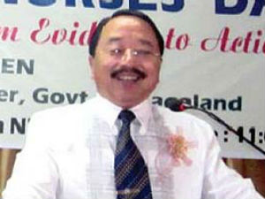 Nagaland home minister detained for carrying arms, cash