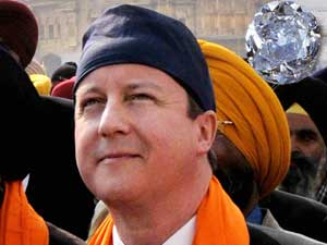 Kohinoor Diamond in royal crown is ours, says David Cameron
