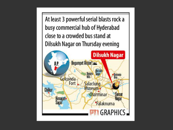 Hyderabad blasts grapphic