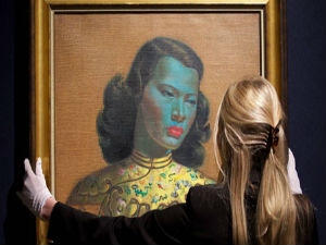 Tretchikoff's Chinese girl fetches nearly Rs.80 crore