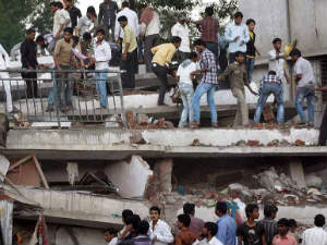 26 killed, 50 injured as building collapses in Thane
