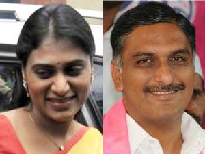 Sharmila and Harish Rao