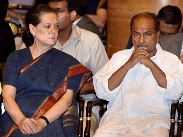 sonia gandhi and ak antony