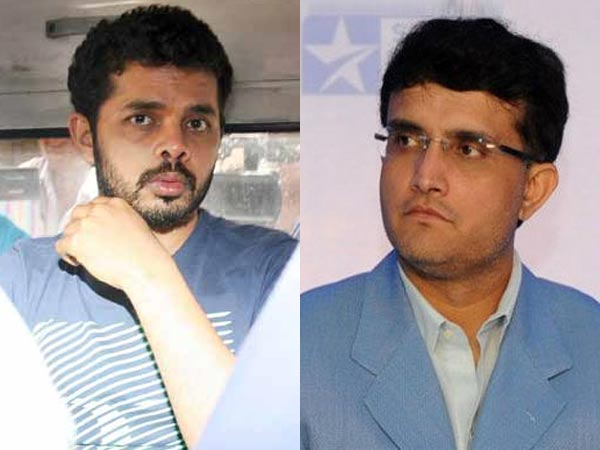 Sreesanth and Ganguly