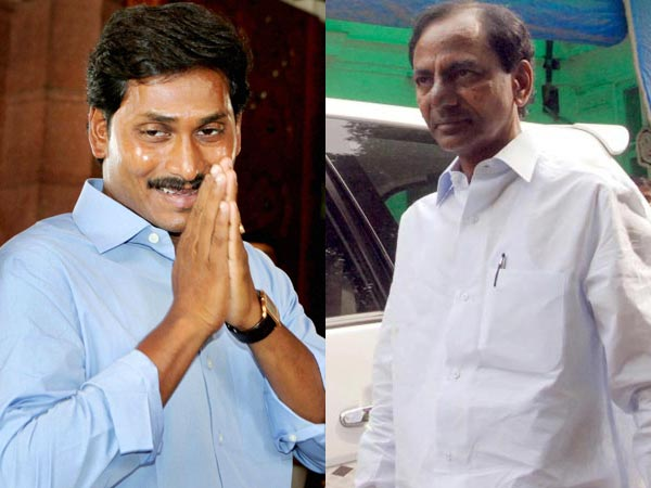 YS Jagan and K Chandrasekhar Rao