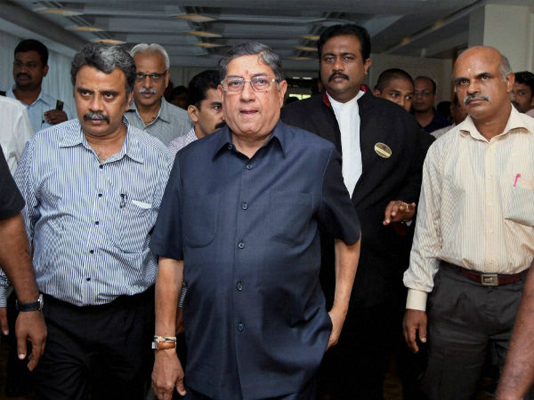 FIR registered against BCCI chief Srinivasan