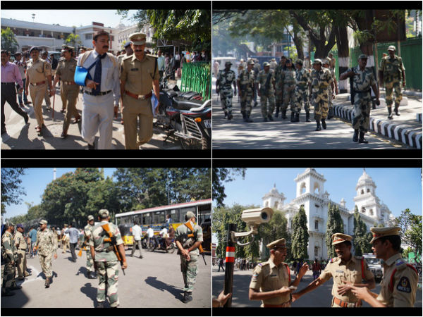 Tight Security Assembly Session