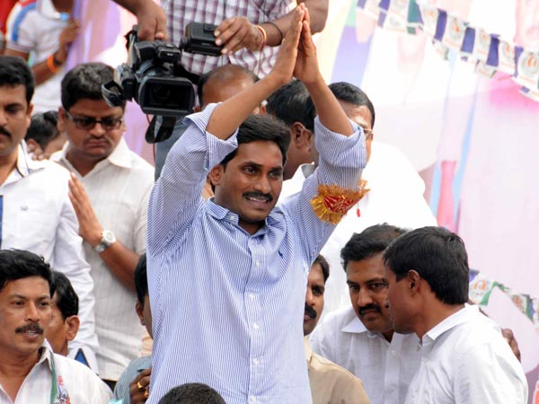 ED attaches YS Jagan and Nimmagadda properties