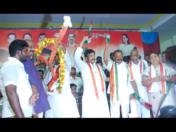 Poor turnout at Chiranjeevi's bus yatra