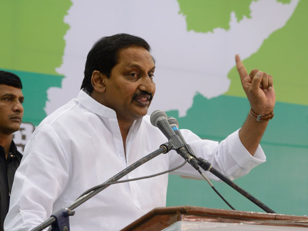Kiran Reddy fires at Nara Chandrababu and YS Jagan Mohan