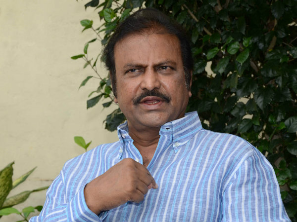 Mohan Babu asked to get into queue
