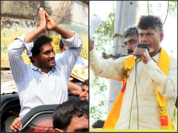 Chandrababu and Jagan take oath in Assembly