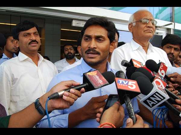 YS Jagan retaliates TDP comments