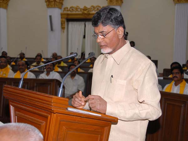 Chandrababu introduced Bill in AP Assembly