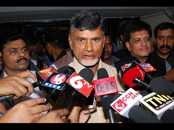 Chandrababu clears on Andhra Pradesh capital
