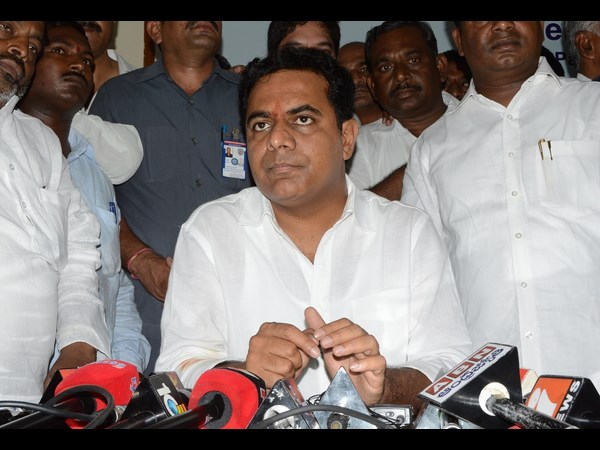 KTR fires at opposition parties