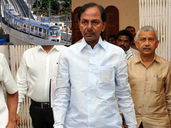 hyderabad metro takes the CM kcr route
