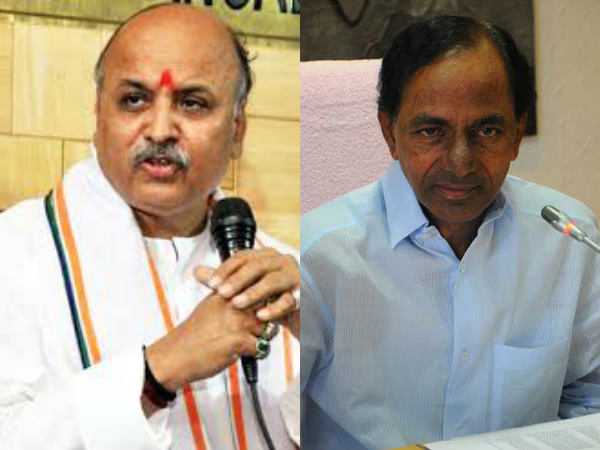 Praveen Togadia lashes out at KCR